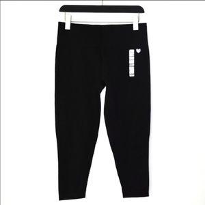 NWT Forever21 Mesh Panel Leggings in Black